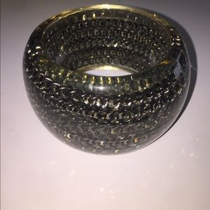 Jewelry - Resin & Silver Link Bracelet