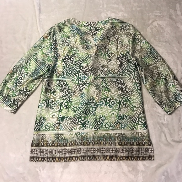 Chicos Green Blouse 23