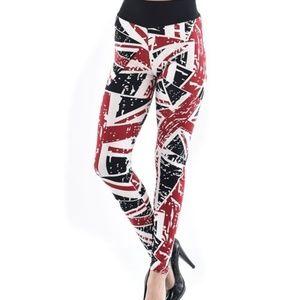 C-Mode Pants - 🇬🇧 Stylish Union Jack Printed Leggings