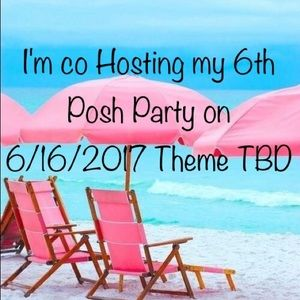 poshmark  Other - I'm co Hosting my 6th Posh Party