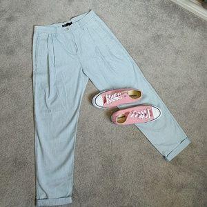 3x1 Denim - Vintage 3x1High Waist boyfriend Cropped pants