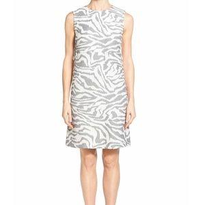 Hugo Boss Dresses & Skirts - Hugo Boss 'Dakola' Jacquard Gray Sheath Dress