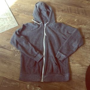 Alternative Apparel Tops - Alternative apparel gray hoodie
