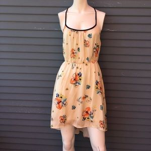Love Stitch Dresses & Skirts - Beautiful hi low  off-white summer flower dress