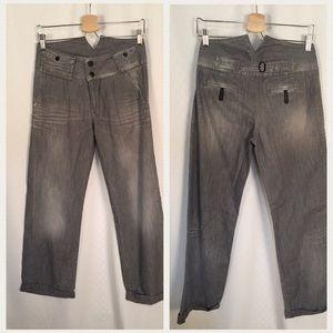 Twenty8Twelve Denim - Twenty8Twelve by S. Miller Gray Jeans Sz 27/34