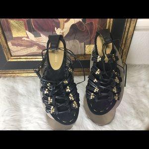 Colin Stuart Shoes - Colin Stuart Gladiator Sandals. Sz 9