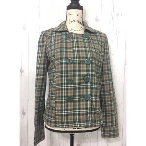 Jackets & Blazers - MAURICES Plaid Double Buttons Winter Coat-2123 A4
