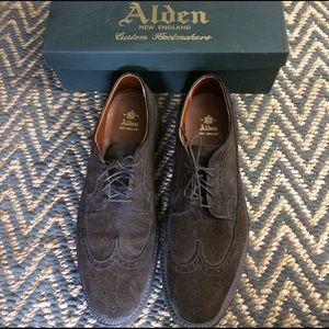 Alden Other - Alden Men's Shoes - Brown Suede