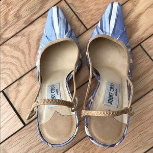Jimmy Choo Shoes - 1 day Sale!JIMMY CHOO stunning Silk slingbacks