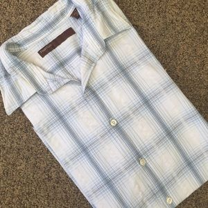 Perry Ellis Other - 🔥💥SALE🔥💥Mens Short Sleeve Plaid Shirt