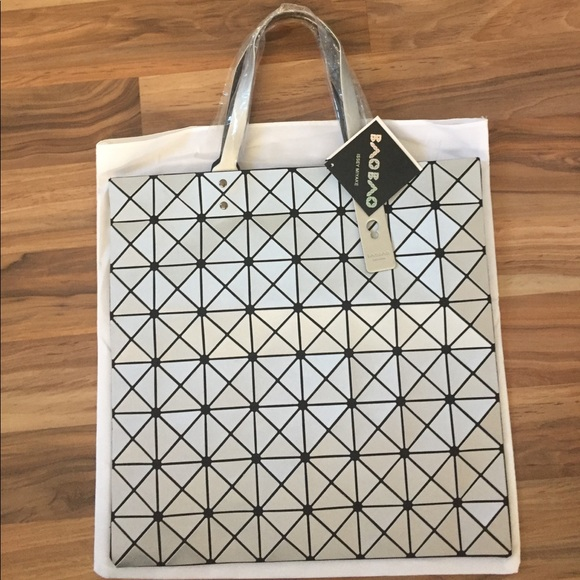 775e77f2e612 Prism Frost Tote from Bao Bao Issey Miyake SL