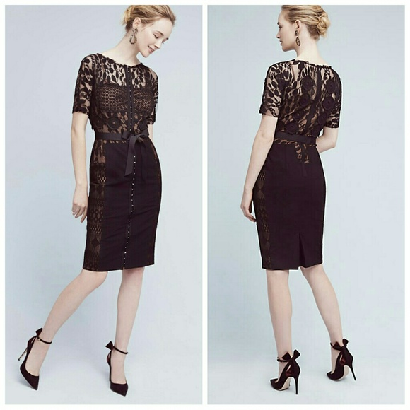 67d7f8b45639 Anthropologie Dresses | Nwt Byron Lars Beguile Carissima Lace Dress ...