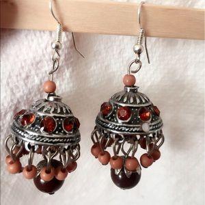 Jewelry - 25% off 💍 A57 Chandler Brown Bead Drop Earrings