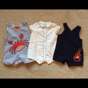 Mudpie/ Neck & Neck Baby/ Carters Other - Bundle for 6 month baby.