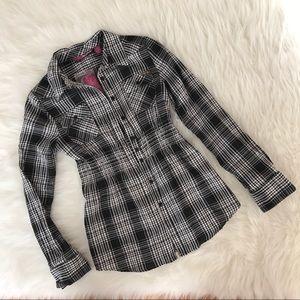 Epic Threads Black and White Girls Shirt