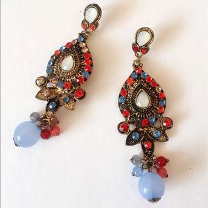 Jewelry - 25% off 💍 B6 🎉HP 🎉Multicolor Bead Drop Earrings
