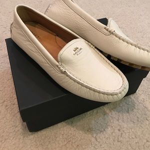 bc2451891d3 Coach Shoes - ⚡️Chic brand new Coach leather loafers off white