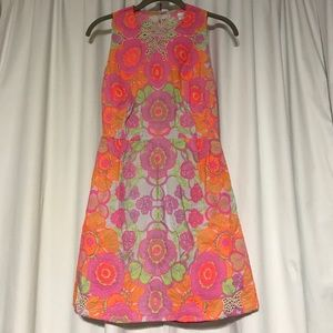 Shakuhachi Dresses & Skirts - Shakuhachi Neon Floral Mini Dress