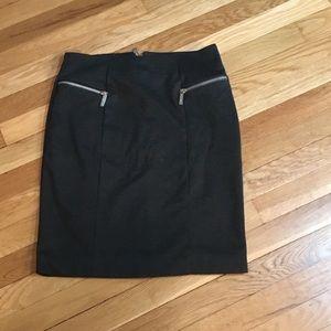Michael Kors gray skirt 💫