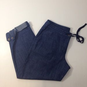 Talbots Pants - NWOT Talbots's Sz 6p Signature Light Denim Capris