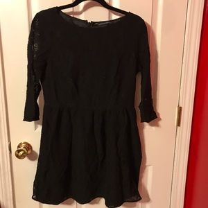 Black Lace French Connection Dress