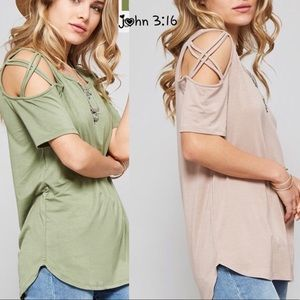 Boutique Tops - Bamboo short sleeve tops