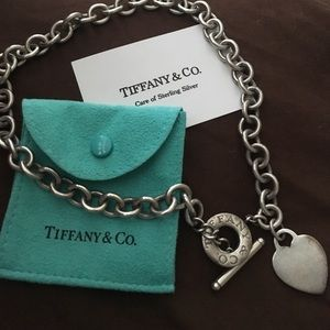Tiffany & Co. Jewelry - Tiffany & Co. heart necklace.