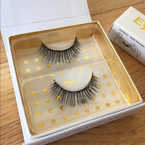 b8348f5dd2f Battington Other - Battington Monroe 3D Silk Lashes & Eyelash Glue