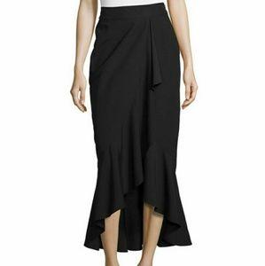 🆕Rachel Zoe Gisele draped ruffle Maxi  skirt