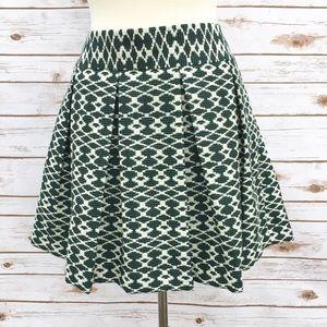 Banana Republic Dresses & Skirts - 🆕 Banana Republic Emerald Pleated Jacquard Skirt