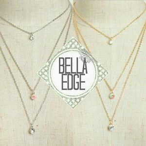 Bella Edge Jewelry - 🆕 Gem rhinestone long cascading layer necklace