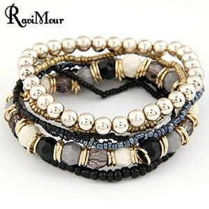 Jewelry - Boho Summer Multilayered Beaded Bracelet 💫☉