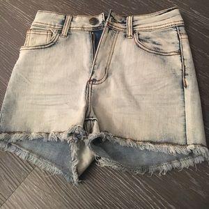 Pants - high waisted festival shorts