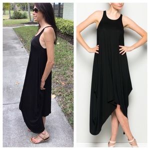 Dresses & Skirts - 🇺🇸 SALE 🇺🇸 Black Harem Dress S,M