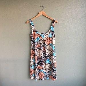 Diane von Furstenberg Dresses & Skirts - DVF Silk Floral Hibiscus Polka Dot Dress