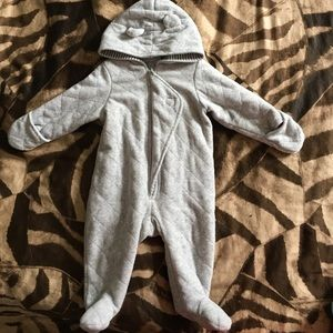 Other - Hooded baby jumpsuit