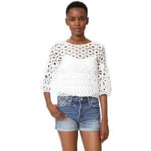 NWT Crochet Crop Top