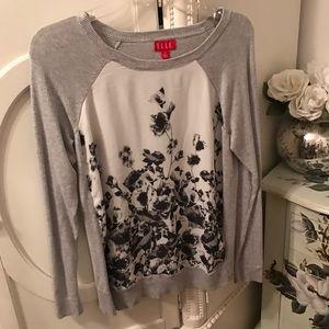 Elle Tops - Elle Floral Shirt M