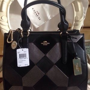 Limited And Rare Coach Satchel Purse