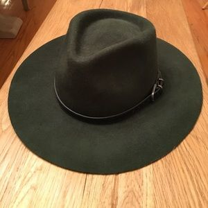 Accessories - Forest green fedora