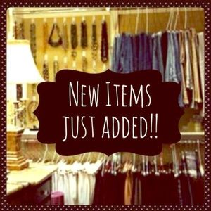 New items added