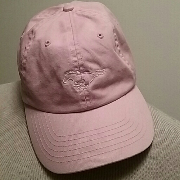 56abe4a9365a5 ford mustang Accessories - Pink Ford Mustang hat ball cap