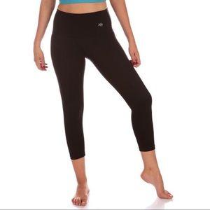 Mika Yoga Wear Pants - Mika Yoga Wear aerial capri- high waisted