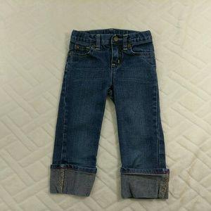 GAP Other - ❤ GAP Boyfriend Cut Jeans Girls Size 2T EUC