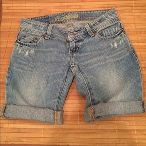 American Eagle Outfitters Pants - AEO Jean Shorts size 00 - Vintage
