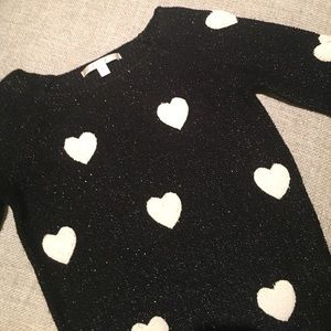 Lauren Conrad Heart Sweater
