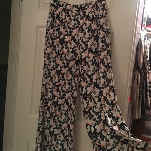 Pants - Extreme flare, high waisted pants