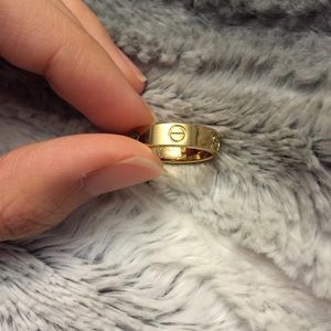 Yeezy Accessories - Love ring thin $24