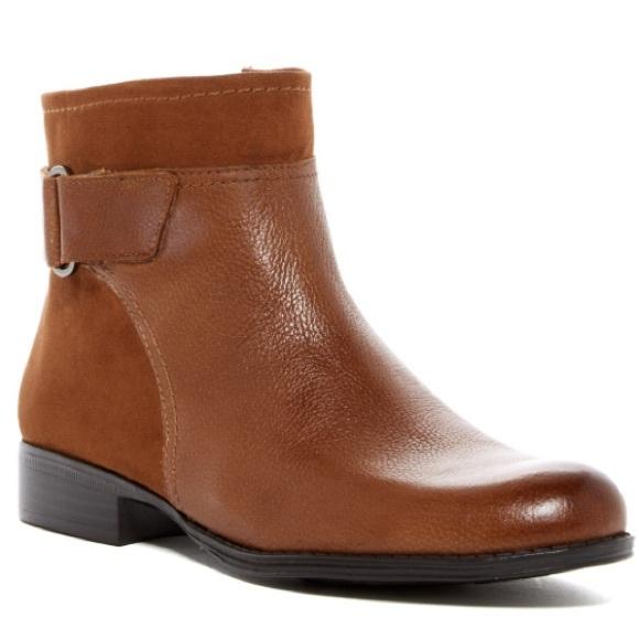 2862aec2e51a9 Naturalizer Shoes | Jojo Short Leather Boots | Poshmark