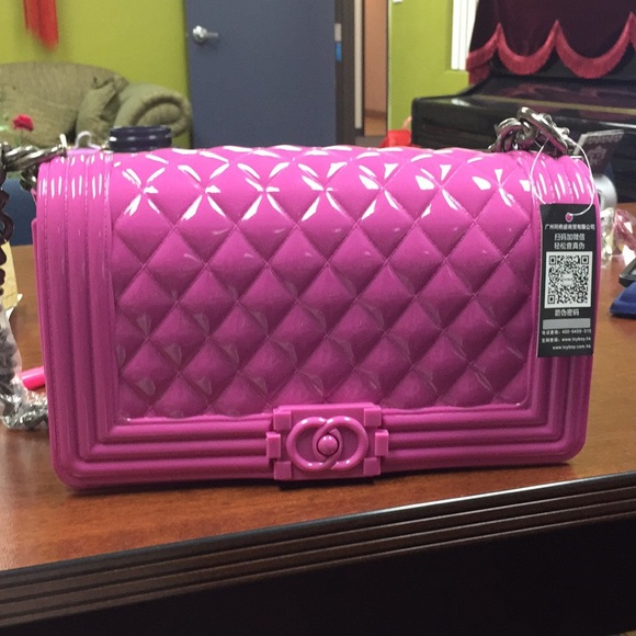 e0947ab879e4 Handbags - 100% AUTH Hong Kong hot Brad Toyboy Jelly bag